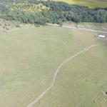 Вид на участки  Павлинино с высоты