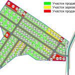 карта с номерами